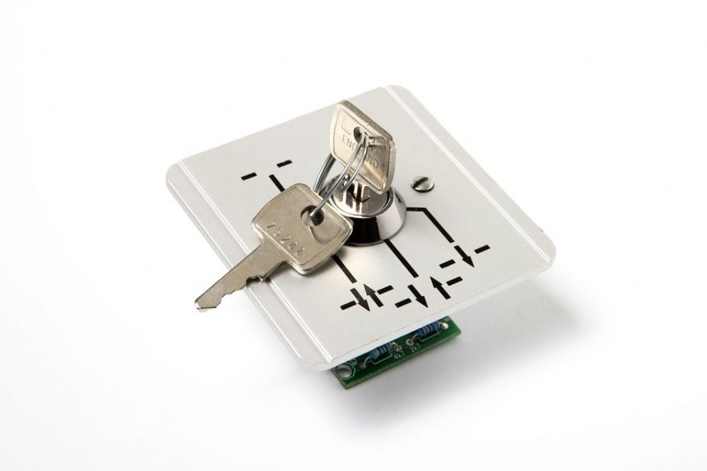 Program selector PS-6 Flush mounted
